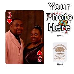 Family Reunion 5 5 By Tomika Holmes   Playing Cards 54 Designs   Iya9scg8s178   Www Artscow Com Front - Heart3