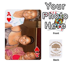 Ace Family Reunion 5 5 By Tomika Holmes   Playing Cards 54 Designs   Iya9scg8s178   Www Artscow Com Front - HeartA
