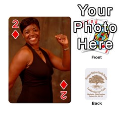 Family Reunion 5 5 By Tomika Holmes   Playing Cards 54 Designs   Iya9scg8s178   Www Artscow Com Front - Diamond2
