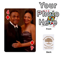 Family Reunion 5 5 By Tomika Holmes   Playing Cards 54 Designs   Iya9scg8s178   Www Artscow Com Front - Diamond4