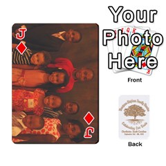 Jack Family Reunion 5 5 By Tomika Holmes   Playing Cards 54 Designs   Iya9scg8s178   Www Artscow Com Front - DiamondJ