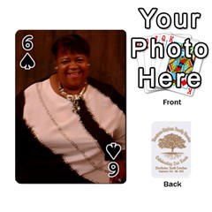 Family Reunion 5 5 By Tomika Holmes   Playing Cards 54 Designs   Iya9scg8s178   Www Artscow Com Front - Spade6