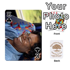 King Family Reunion 5 5 By Tomika Holmes   Playing Cards 54 Designs   Iya9scg8s178   Www Artscow Com Front - ClubK
