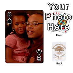 Family Reunion 5 5 By Tomika Holmes   Playing Cards 54 Designs   Iya9scg8s178   Www Artscow Com Front - Spade8