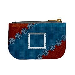 Blue & Red Coin Purse By Daniela   Mini Coin Purse   5qciovuf1ho9   Www Artscow Com Back