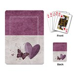 Legacy of Love Playing Cards - Playing Cards Single Design