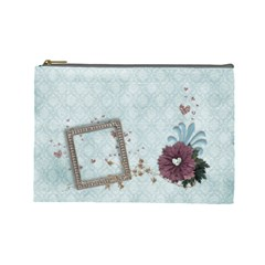 Legacy Of Love Cosmetic Bag (l)  By Mikki   Cosmetic Bag (large)   14hznkgokpuy   Www Artscow Com Front