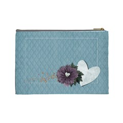 Legacy Of Love Cosmetic Bag (l)  By Mikki   Cosmetic Bag (large)   14hznkgokpuy   Www Artscow Com Back