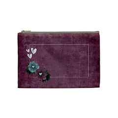 Legacy Of Love Cosmetic Bag (m)  By Mikki   Cosmetic Bag (medium)   Lom612ndtph6   Www Artscow Com Front