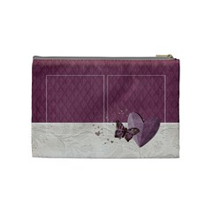 Legacy Of Love Cosmetic Bag (m)  By Mikki   Cosmetic Bag (medium)   Lom612ndtph6   Www Artscow Com Back