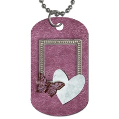 Legacy Of Love Dog Tag (2 Sides) By Mikki   Dog Tag (two Sides)   5iyp42qr17zk   Www Artscow Com Front
