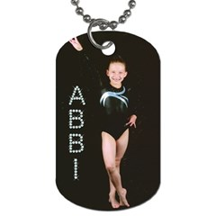 Abbi 3 By Cindy Ward Nielsen   Dog Tag (two Sides)   7lml3qet8f3m   Www Artscow Com Front