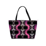 Fractal Lace Serpent-013 Classic Shoulder Handbag