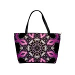 Fractal Serpent Mandala-015 Classic Shoulder Handbag