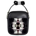 Magnolia Art Leaves-018 Girls Sling Bag