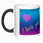 Allabove love2 Morph mug