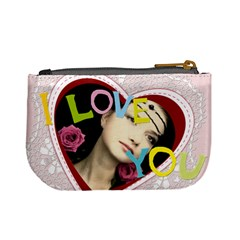 Love Theme Bag By Joely   Mini Coin Purse   Izuepkccp41t   Www Artscow Com Back