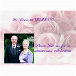 anniversary party - 5  x 7  Photo Cards