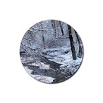 snow coasters - Rubber Round Coaster (4 pack)
