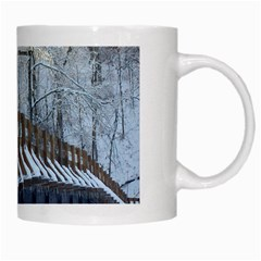 Snowy Bridge Mug By L  Lee   White Mug   Xvjnsix6b1o6   Www Artscow Com Right