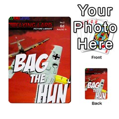 Jimbo s Bag The Hun Cards Set 1 By Jim   Multi Purpose Cards (rectangle)   Okhi2yrtsg12   Www Artscow Com Back 9