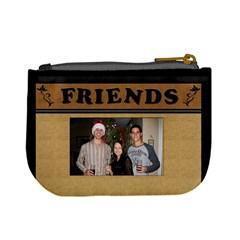 We Are Friends Mini Coin Purse By Lil    Mini Coin Purse   66467luip2cj   Www Artscow Com Back