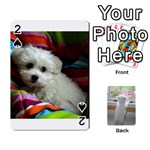 Playing cards with Snowy s photos - Playing Cards 54 Designs