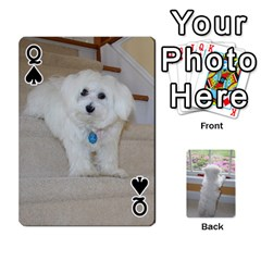 Queen Playing Cards With Snowy s Photos By Xinpei   Playing Cards 54 Designs   Le6lpxwj0c5h   Www Artscow Com Front - SpadeQ