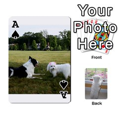 Ace Playing Cards With Snowy s Photos By Xinpei   Playing Cards 54 Designs   Le6lpxwj0c5h   Www Artscow Com Front - SpadeA