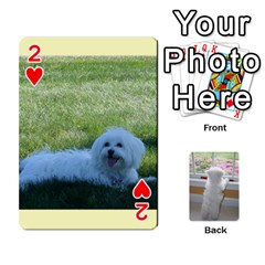 Playing Cards With Snowy s Photos By Xinpei   Playing Cards 54 Designs   Le6lpxwj0c5h   Www Artscow Com Front - Heart2