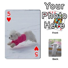 Playing Cards With Snowy s Photos By Xinpei   Playing Cards 54 Designs   Le6lpxwj0c5h   Www Artscow Com Front - Heart5