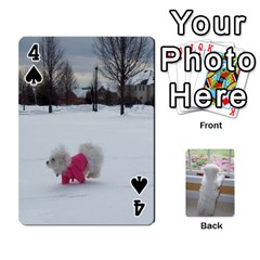 Playing Cards With Snowy s Photos By Xinpei   Playing Cards 54 Designs   Le6lpxwj0c5h   Www Artscow Com Front - Spade4