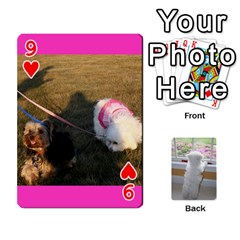 Playing Cards With Snowy s Photos By Xinpei   Playing Cards 54 Designs   Le6lpxwj0c5h   Www Artscow Com Front - Heart9
