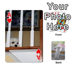 Ace Playing Cards With Snowy s Photos By Xinpei   Playing Cards 54 Designs   Le6lpxwj0c5h   Www Artscow Com Front - HeartA