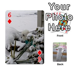 Playing Cards With Snowy s Photos By Xinpei   Playing Cards 54 Designs (rectangle)   Le6lpxwj0c5h   Www Artscow Com Front - Diamond6