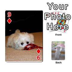 Playing Cards With Snowy s Photos By Xinpei   Playing Cards 54 Designs   Le6lpxwj0c5h   Www Artscow Com Front - Diamond9