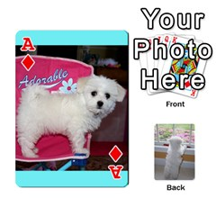 Ace Playing Cards With Snowy s Photos By Xinpei   Playing Cards 54 Designs   Le6lpxwj0c5h   Www Artscow Com Front - DiamondA