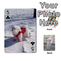 Playing Cards With Snowy s Photos By Xinpei   Playing Cards 54 Designs   Le6lpxwj0c5h   Www Artscow Com Front - Club5