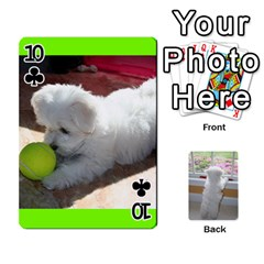 Playing Cards With Snowy s Photos By Xinpei   Playing Cards 54 Designs   Le6lpxwj0c5h   Www Artscow Com Front - Club10