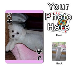 Jack Playing Cards With Snowy s Photos By Xinpei   Playing Cards 54 Designs   Le6lpxwj0c5h   Www Artscow Com Front - ClubJ