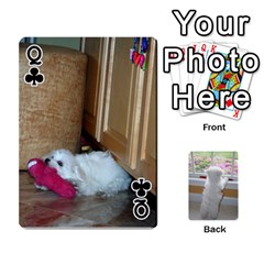 Queen Playing Cards With Snowy s Photos By Xinpei   Playing Cards 54 Designs   Le6lpxwj0c5h   Www Artscow Com Front - ClubQ