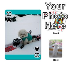 Playing Cards With Snowy s Photos By Xinpei   Playing Cards 54 Designs   Le6lpxwj0c5h   Www Artscow Com Front - Spade10