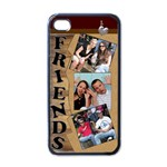 My Friends Apple ipod Case - Apple iPhone 4 Case (Black)