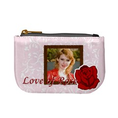 Love Of Rose By Joely   Mini Coin Purse   Exj6lsb3e5nq   Www Artscow Com Front