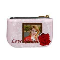Love Of Rose By Joely   Mini Coin Purse   Exj6lsb3e5nq   Www Artscow Com Back