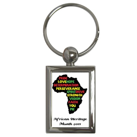 Keychain For Ahm 2011 By Chantel Reid Demeter   Key Chain (rectangle)   Ty6kak2ar1ys   Www Artscow Com Front
