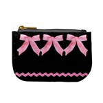black & pink coin - Mini Coin Purse