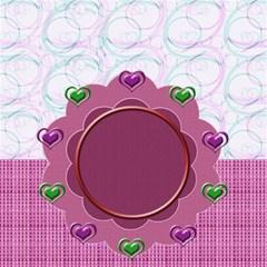 Heart U Storage Stool By Daniela   Storage Stool 12    2evtylmy29xa   Www Artscow Com Front
