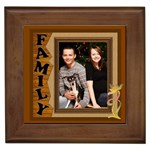 Our Family Framed Tile