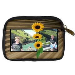 Sunny Days Camera Case By Catvinnat   Digital Camera Leather Case   Cgdtk9xsxn33   Www Artscow Com Back